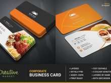 30 Creating Business Card Template Restaurant Templates with Business Card Template Restaurant
