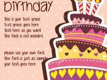 30 Creative Birthday Card Layout Templates by Birthday Card Layout Templates