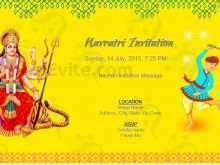 30 Creative Navratri Invitation Card Format In English With Stunning Design for Navratri Invitation Card Format In English