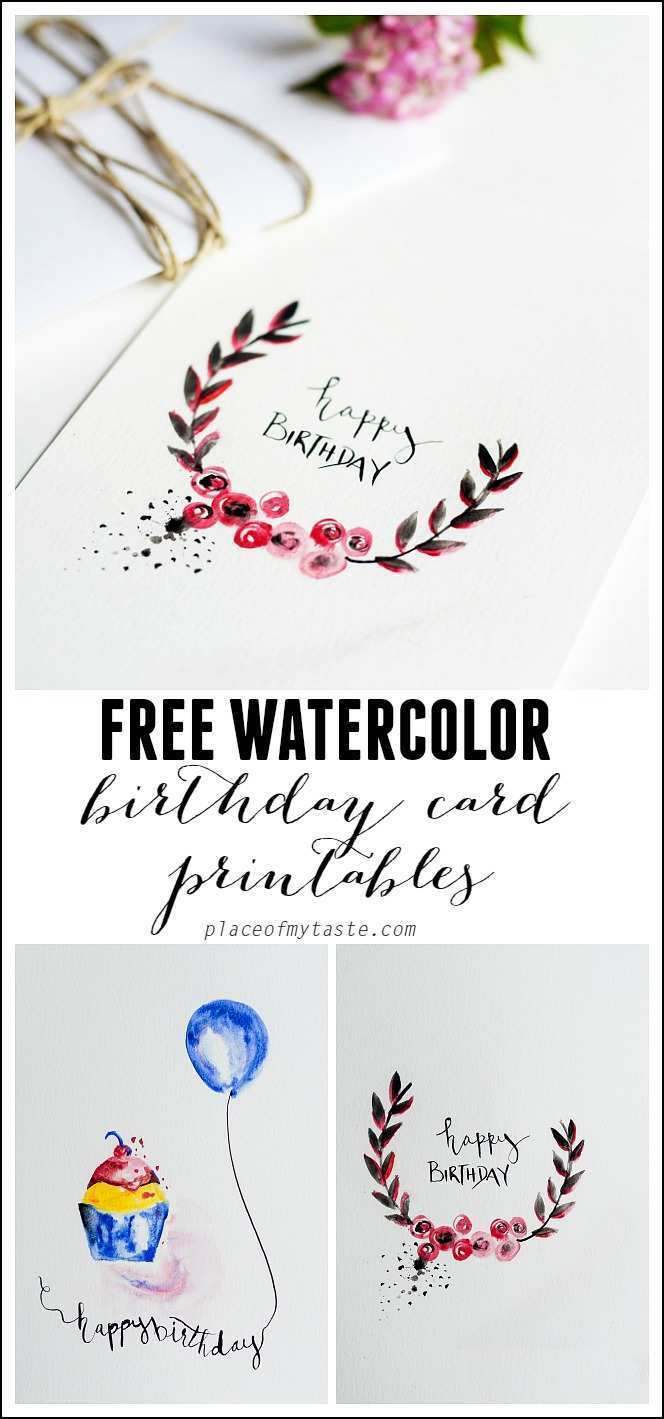 Magnificent 30 Customize Our Free Birthday Card Template For Best Friend Now Personalised Birthday Cards Xaembasilily Jamesorg