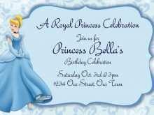 30 Format Cinderella Birthday Card Template Formating for Cinderella Birthday Card Template