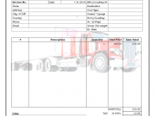 30 How To Create Blank Trucking Invoice Template in Photoshop with Blank Trucking Invoice Template