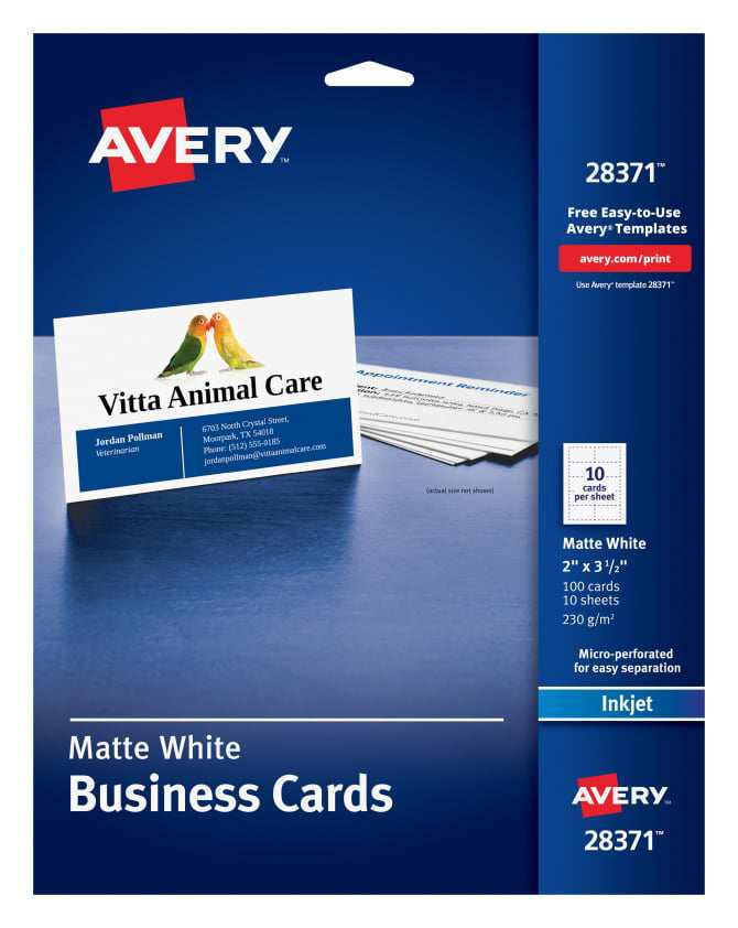 30 Online Avery 10 Business Card Template Photo with Avery 10 Business Card Template