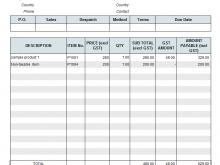 Gst Tax Invoice Format Latest