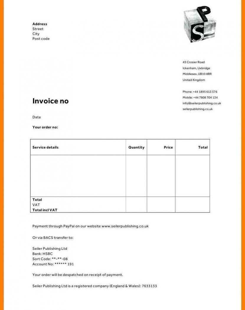 30 Online Non Vat Invoice Template Uk Photo By Non Vat Invoice Template Uk Cards Design Templates