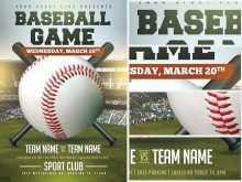 30 Printable Baseball Flyer Template Free PSD File by Baseball Flyer Template Free