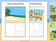 30 Printable Postcard Template Eyfs Templates by Postcard Template Eyfs