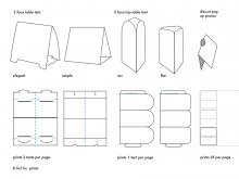 30 Standard A5 Landscape Tent Card Template Layouts for A5 Landscape Tent Card Template