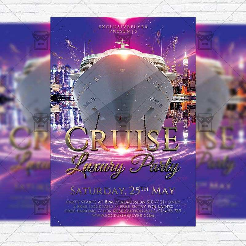 30 Standard Boat Party Flyer Template Psd Free for Ms Word for Boat Party Flyer Template Psd Free