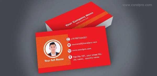 30 Standard Business Card Template Cdr Free Download With Stunning Design with Business Card Template Cdr Free Download