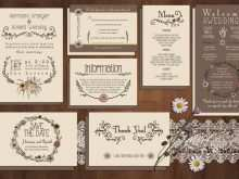 Invitation Card Template Photoshop Free