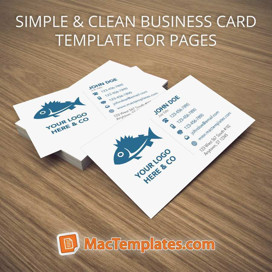 30 Visiting Business Card Templates In Pages Photo by Business Card Templates In Pages
