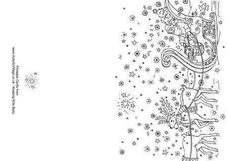 30 Visiting Christmas Card Templates To Colour PSD File by Christmas Card Templates To Colour
