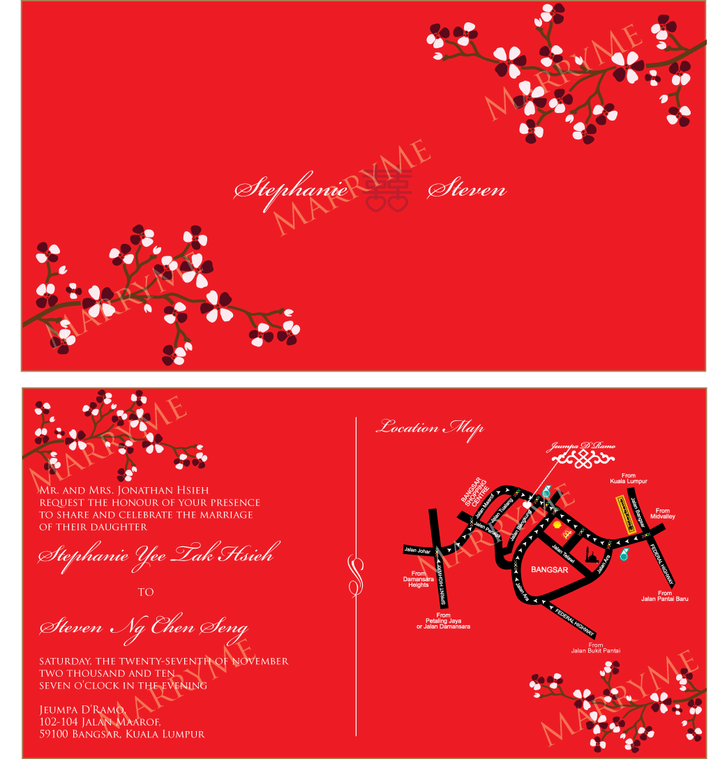 4 Adding Chinese Wedding Card Templates Free Download in Word