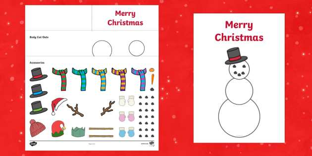 31 Adding Christmas Card Templates Twinkl in Photoshop with Christmas Card Templates Twinkl
