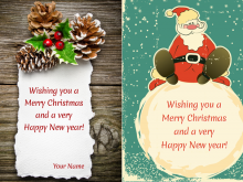 31 Best Christmas Card Template Html Layouts for Christmas Card Template Html