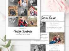 5 X 7 Christmas Card Template