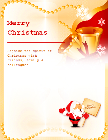 31 Blank Free Christmas Flyer Templates Download by Free Christmas Flyer Templates