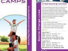 31 Create Cheer Camp Flyer Template Now with Cheer Camp Flyer Template