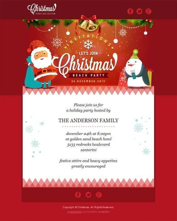 31 Creating Beach Christmas Card Template in Photoshop for Beach Christmas Card Template