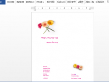 31 Creating Mothers Day Card Templates Free in Word by Mothers Day Card Templates Free