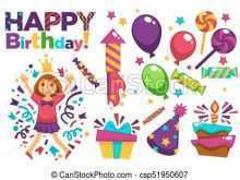 Birthday Card Gift Template