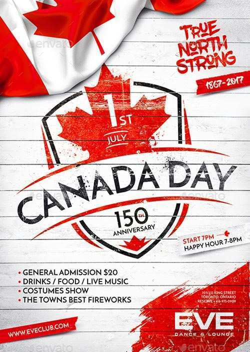 31 Creative Canada Day Flyer Template in Word with Canada Day Flyer Template