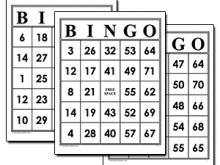 31 Customize Our Free Bingo Card Template To Print With Stunning Design with Bingo Card Template To Print