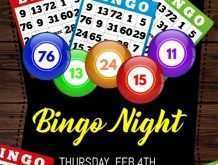 31 Customize Our Free Bingo Flyer Template Free Photo with Bingo Flyer Template Free