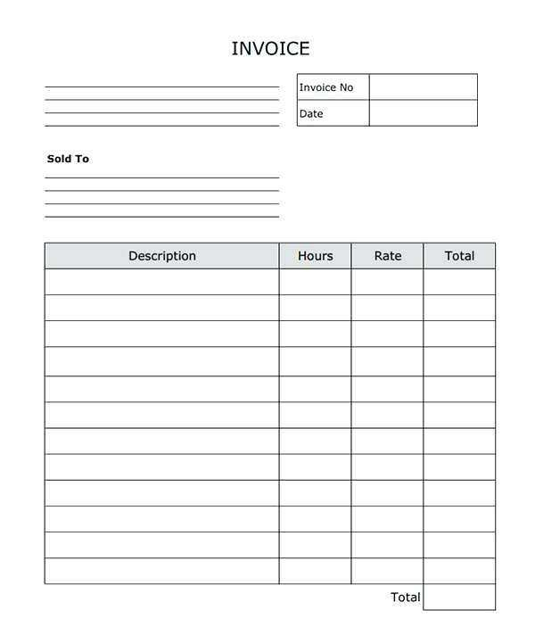31 Customize Our Free Blank Invoice Receipt Template Maker For Blank Invoice Receipt Template Cards Design Templates