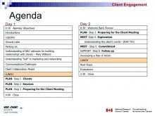 Unique Meeting Agenda Template