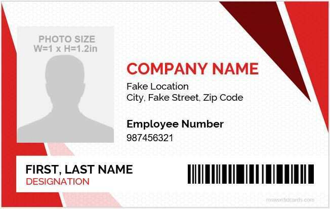 31 format id card template for word layouts for id card