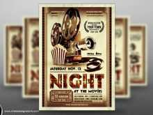 Free Movie Night Flyer Template