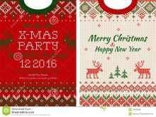31 Free Printable Christmas Sweater Card Template Formating for Christmas Sweater Card Template