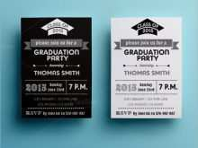Invitation Card Template Graduation