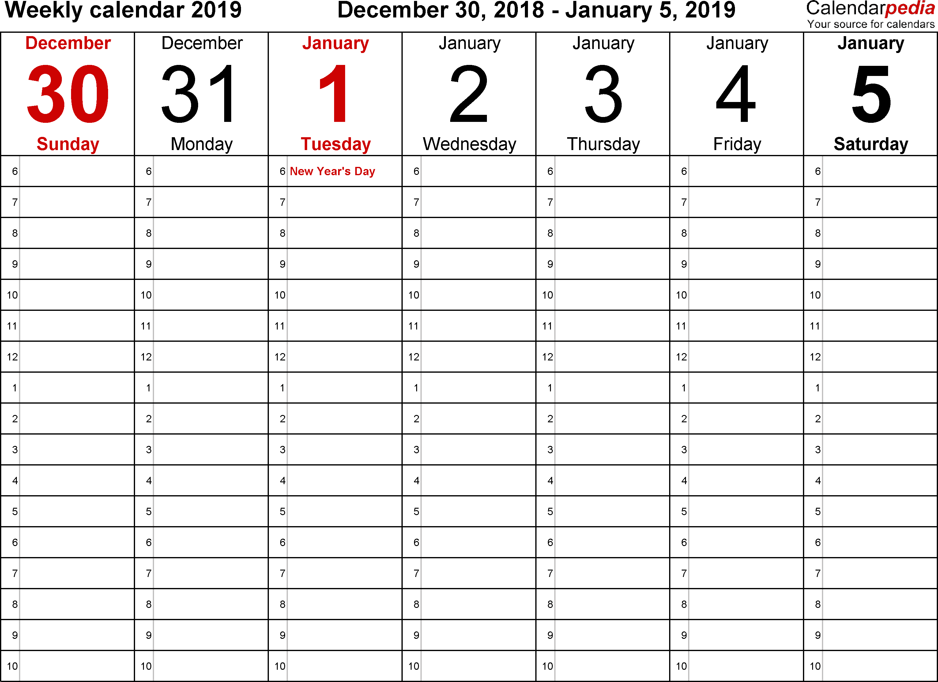 31 Online 2018 Daily Calendar Template Pdf For Free for 2018 Daily Calendar Template Pdf