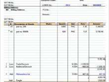 31 Online Invoice Samples Excel for Invoice Samples Excel