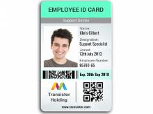 31 Printable Id Card Template In Microsoft Word for Ms Word for Id Card Template In Microsoft Word