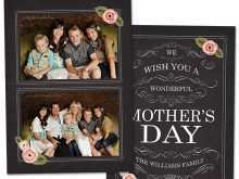 31 Printable Mother S Day Card Template Photoshop Photo with Mother S Day Card Template Photoshop