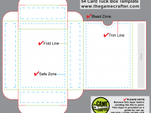 31 Standard Box In A Card Template Maker with Box In A Card Template