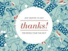 31 The Best Christmas Card Thank You Template in Word for Christmas Card Thank You Template