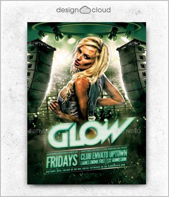 31 The Best Club Flyer Design Templates Free in Photoshop with Club Flyer Design Templates Free