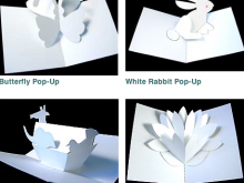 32 Adding Rabbit Pop Up Card Template Photo with Rabbit Pop Up Card Template