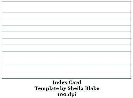 32 Best Avery 3 X 5 Card Template Download for Avery 3 X 5 Card Template