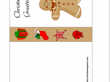 32 Best Christmas Card Templates To Print Templates by Christmas Card Templates To Print