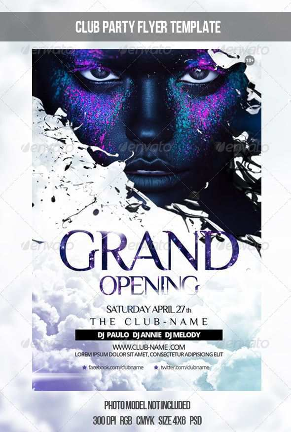 32 Best Club Event Flyer Templates Now with Club Event Flyer Templates
