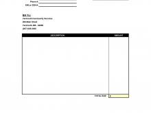 32 Blank Blank Invoice Forms Printable in Word for Blank Invoice Forms Printable