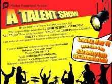 32 Blank School Talent Show Flyer Template Templates with School Talent Show Flyer Template
