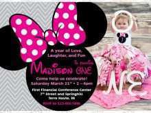 32 Create Birthday Card Template Minnie Mouse Maker by Birthday Card Template Minnie Mouse