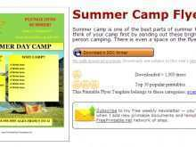 32 Create Camp Flyer Template Microsoft Word Now by Camp Flyer Template Microsoft Word